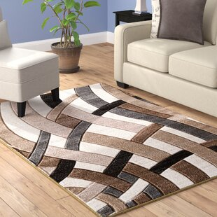 Savings Maricela Hand Carved Beige/Gray/Black Area Rug By Winston Porter
