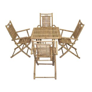 Bamboo54 5 Piece Dining Set