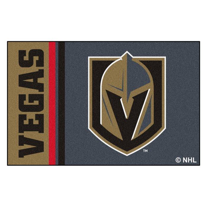 cheap for discount 6b565 5ec15 Vegas Golden Knights Uniform Starter 30 in. x 19 in. Non-Slip Indoor Only  Door Mat
