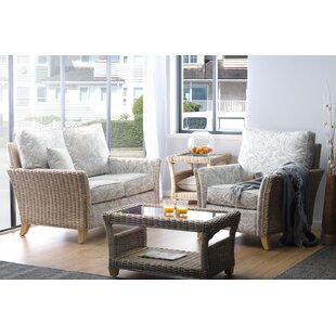Gracie 4 Piece Conservatory Sofa Set By Beachcrest Home