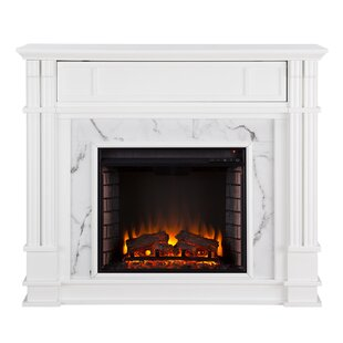 Chesterbrook Electric Fireplace by Alcott Hill