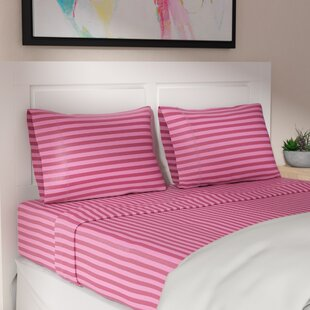 Harding 200 Thread Count 100% Cotton Sheet Set by Ivy Bronx Best Choices