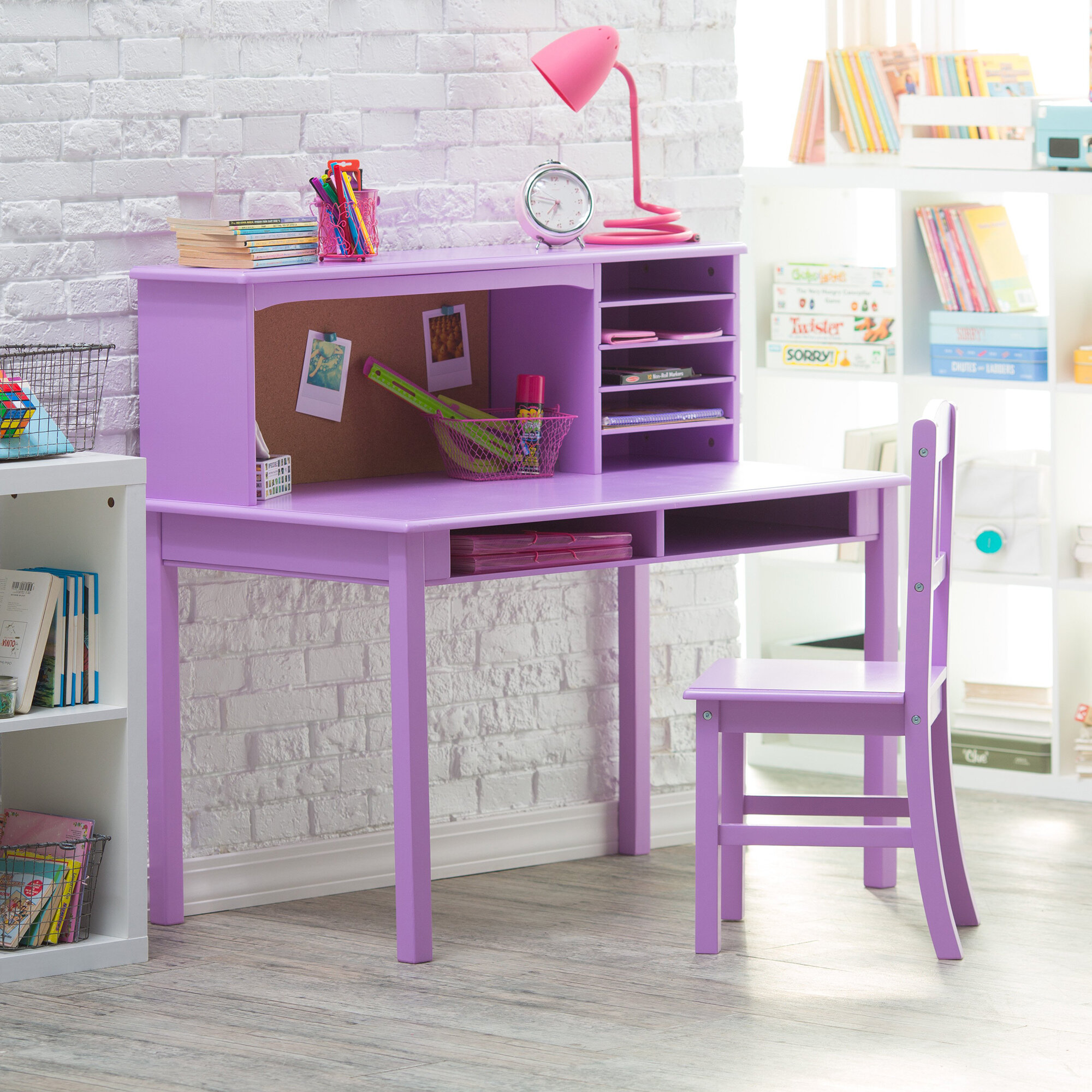 Prime Glaser Kids Study Desk And Chair Set With Kids Hutch Gmtry Best Dining Table And Chair Ideas Images Gmtryco
