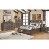 Channelle Queen Solid Wood 4 Piece Bedroom Set by Union Rustic