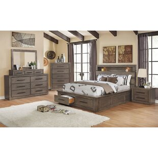 Channelle Queen Solid Wood 5 Piece Bedroom Set