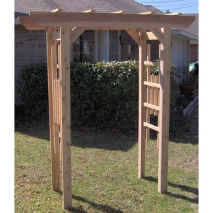 Threeman Products Traditional Cedar Wood Arbor