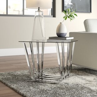 Affordable Fredrick End Table by Wade Logan