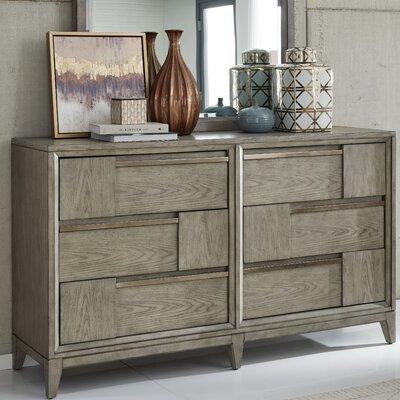 Brayden Studio Ehrhardt Wood 6 Drawer Double Dresser Brayden Studio Dailymail