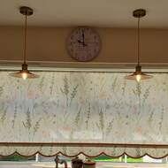 Nicola reviewed Vintage Modern Yellow Brass Ceiling Lamp Shades