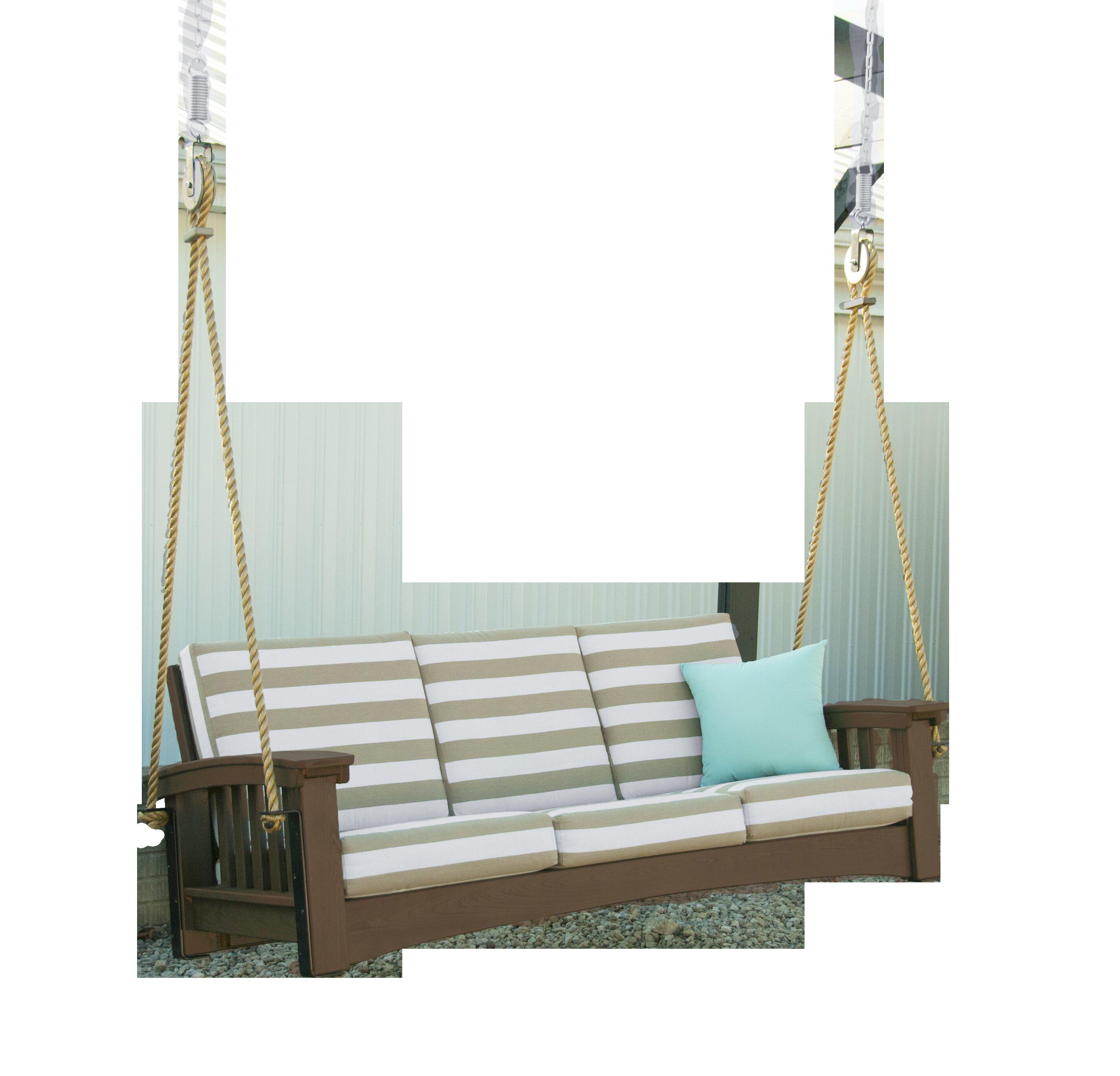 Hershy Way Days End Sofa Rope Porch Swing | Wayfair