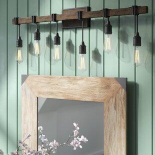 Gracie Oaks Wyckhoff 6-Light Vanity Light