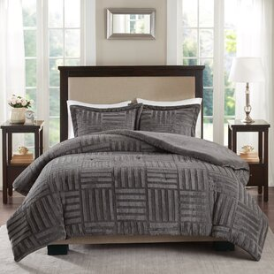 Yasmina Fur Down Alternative Comforter Mini Set