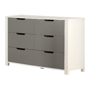 Claiborne 6 Drawer Double Dresser by Isabelle amp Max