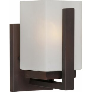 Compare & Buy Mcmaster 1-Light Bath Sconce By Ebern Designs