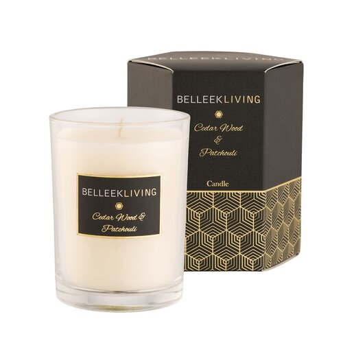 Wood and Patchouli Scented Jar Candle Symple Stuff