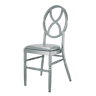 Kunkel Velika Series Stackable Sandglass Aluminum Dining Chair by House of Hampton #1