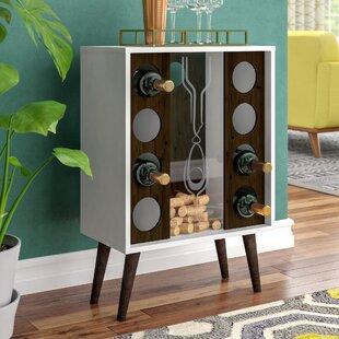 Corrigan Studio Kory 8 Bottle Floor Wine Cabinet and Display