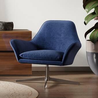 Corrigan Studio Morales 26 97 Wide Swivel Side Chair Reviews Wayfair