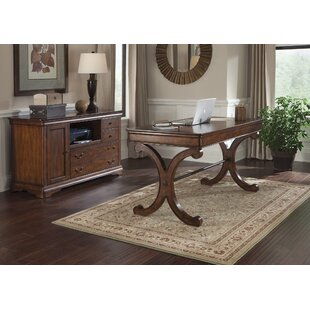 Alden 2 Piece Desk Office Suite by Fleur De Lis Living