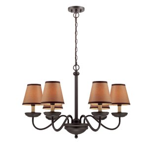 Darby Home Co Monique 6-Light Shaded Chandelier