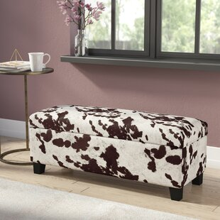 Hetherington Upholstered Storage Bench by House of Hampton