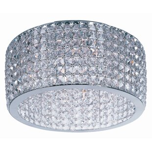 Rosdorf Park Shania 9-Light Flush Mount
