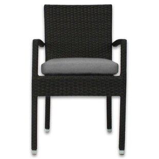 Skye Stacking Patio Dining Chair with Cushion