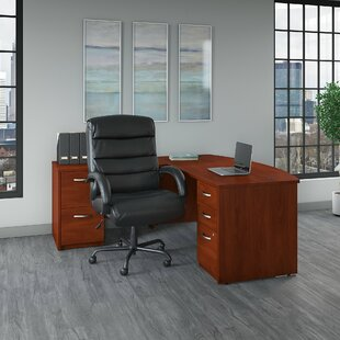 Series C Elite 4 Piece Office Set by Bush Business Furniture Fresh