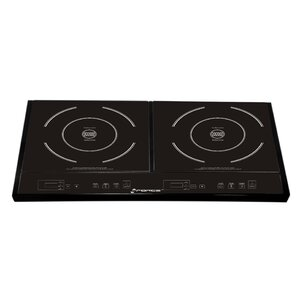 Double Induction Stove Temperature Control and Timer