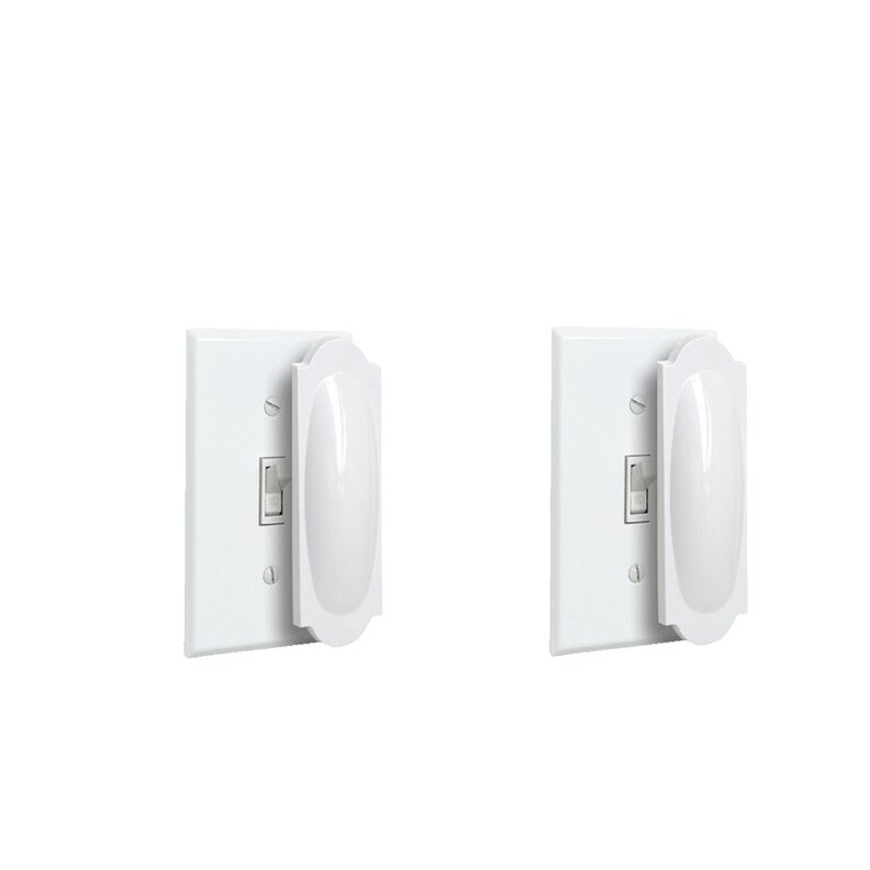 Ybm Home Magnetic Outlet Cover And Toggle Light Switch Wayfair