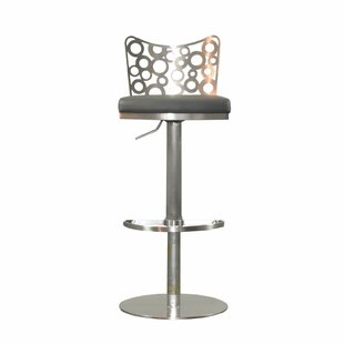RMG Fine Imports Jester Adjustable Height Swivel Bar Stool
