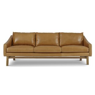 Top Reviews Coronet Leather Sofa by Foundry Select Reviews (2019) & Buyer's Guide
