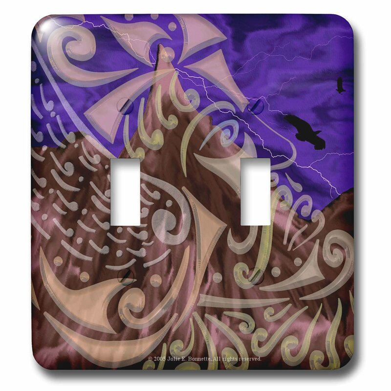 3drose Thor Mythology Tribal Abstract Norse Pagan Asatru 2 Gang Toggle Light Switch Wall Plate Wayfair