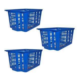 Deals Stackable Basket (Set of 3) ByRebrilliant