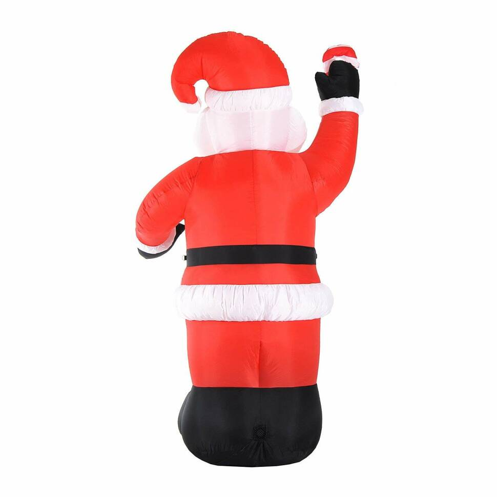HomCom 8\' Indoor/Outdoor LED Inflatable Holiday Christmas Yard ...