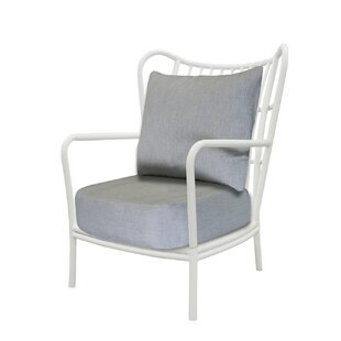 Weathersby Patio Chair by Bungalow Rose 2019 Sale