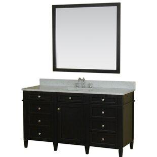 Costillo 60 Single Bathroom Vanity Set with Mirror by Red Barrel Studio