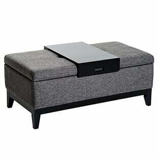 Nico Tufted Storage Ottoman by Ebern Designs