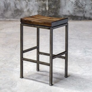 Amelia 30 Bar Stool Gracie Oaks