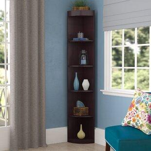 Fuhrmann Corner Unit Bookcase Red Barrel Studio