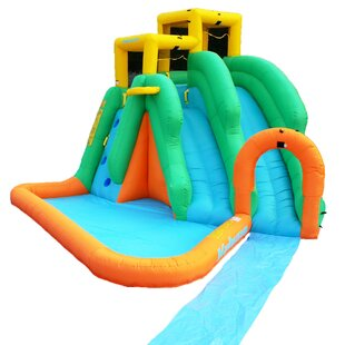 Tornado Blast Inflatable Slide By Magic Time
