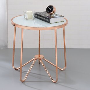 Wrought Studio Bock End Table