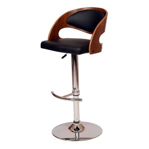 Garland Adjustable Height Swivel Bar Stool by Corrigan Studio