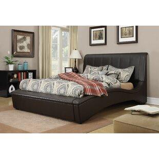 Deshields Upholstery Sleigh Bed by Brayden Studio