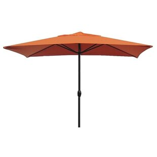 Red Barrel Studio Gries 10' x 6' Rectangular Market Umbrella