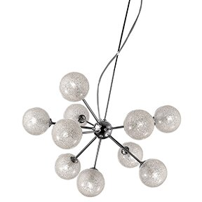 Brayden Studio Nadia 10-Light Sputnik Chandelier