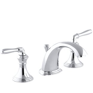 Kohler Devonshire Widespread Bathroom Faucet with Drain Assembly