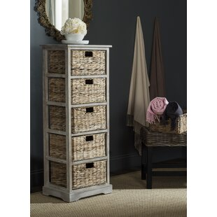 Dipasquale Tower 5 Drawer Chest By Beachcrest Home