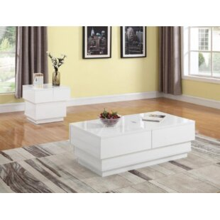 Haggins 2 Piece Coffee Table Set