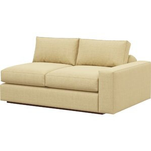 Jackson Loveseat with One Arm by TrueModern